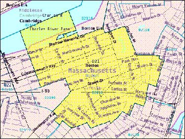 Demographics By Zip Code Map.Back Bay Demographics City In Transition Jr610 Emerson College
